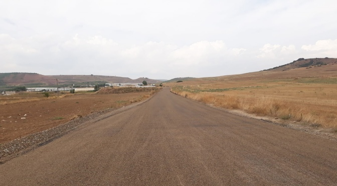"""El """"Camino de la Muga del Monte"""" de Pradejón más confortable y seguro"""