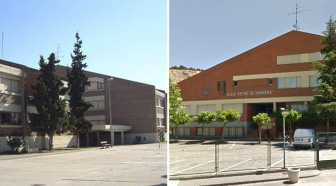 Aulas confinadas por coronavirus en los centros de Azagra y San Adrián
