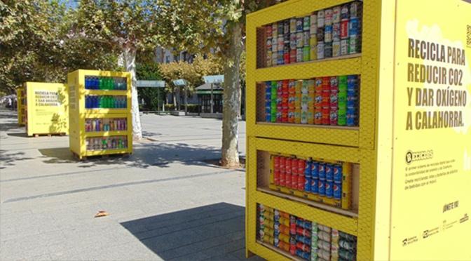 Cuatro nuevos puntos informativos de  RECICLOS en Calahorra
