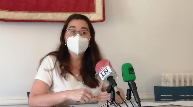 La Alcaldesa de Calahorra pide que se limiten los movimientos a lo imprescindible