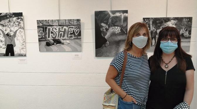 Montse Medel y Ana Cristina Escobés expone en el Centro Caja Rioja de Calahorra