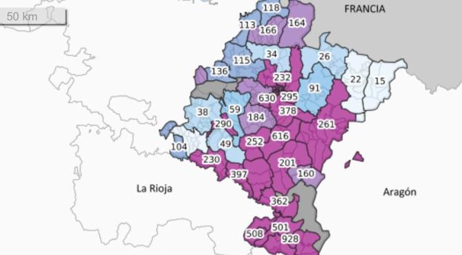 Navarra vuelve a superar los más de 300 positivos en un día