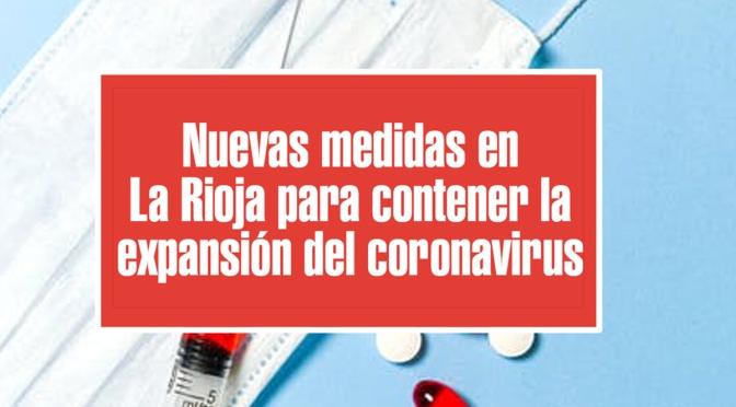 Prorrogadas las medidas que limitan las reuniones a 6 personas, entre otras, en La Rioja