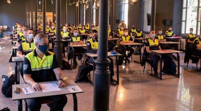 Más de tres meses de formación y 62 aspirantes  a Policía Local de La Rioja