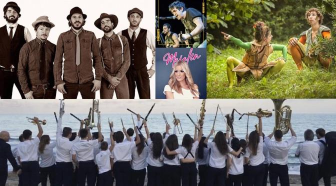 Conciertos y espectáculos para los días 7 y 8 de septiembre en San Adrián