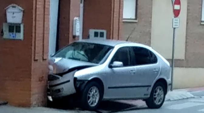 Dos personas heridas por accidente de tráfico en Alfaro