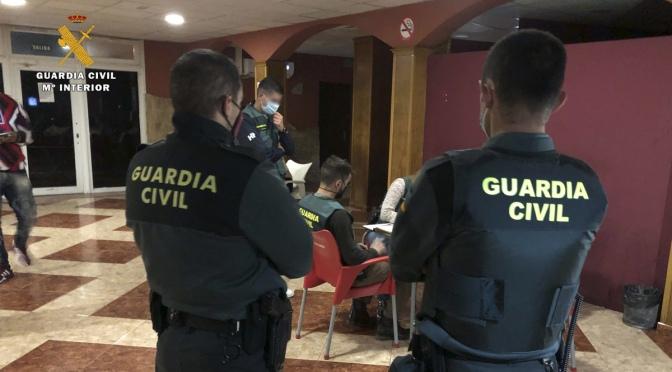 Inspeccionado y desalojado por cuarta vez, un club de alterne en Rincón de Soto