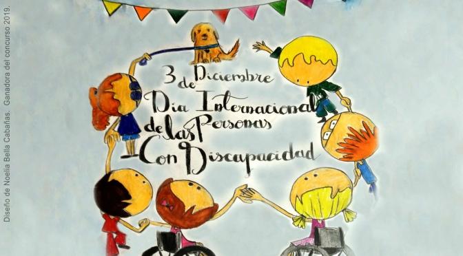 """Concurso de carteles por el """"Día Internacional de las personas con Discapacidad"""""""