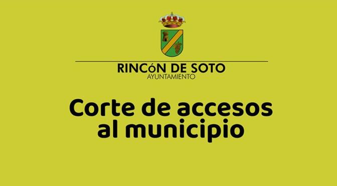 Limitación de la movilidad en Rincón de Soto
