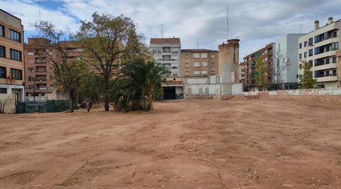 Finaliza el derribo parcial del antiguo edificio del cuartel de la Guardia Civil