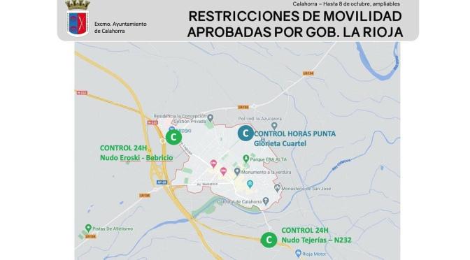Limitación de la Movilidad en Calahorra