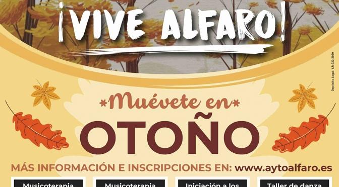 Agenda de cursos en Alfaro desde gratuitos hasta por 3€