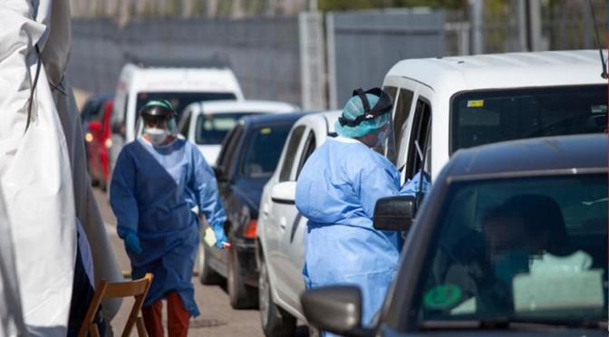 Subida moderada de casos activos en nuestras localidades excepto en Calahorra
