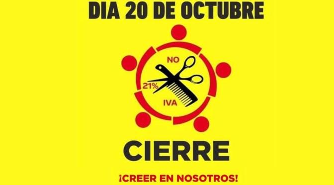 Peluquerías de Calahorra y Alfaro se unen a la protesta a nivel nacional «por un IVA justo»
