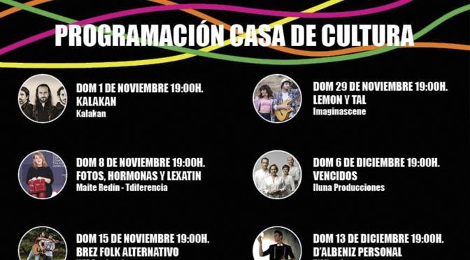 San Adrián finaliza el año con una completa programación cultural