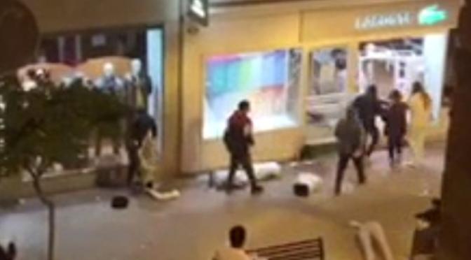 7 detenidos por los sucesos de ayer en Logroño, aunque continúan las investigaciones