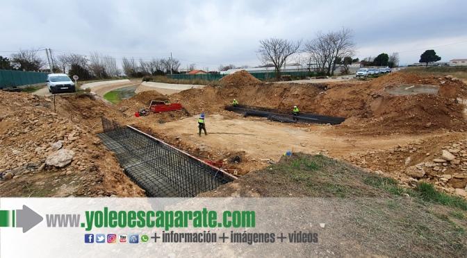 Las obras de sustitución del puente sobre el canal de Lodosa avanzan a buen ritmo
