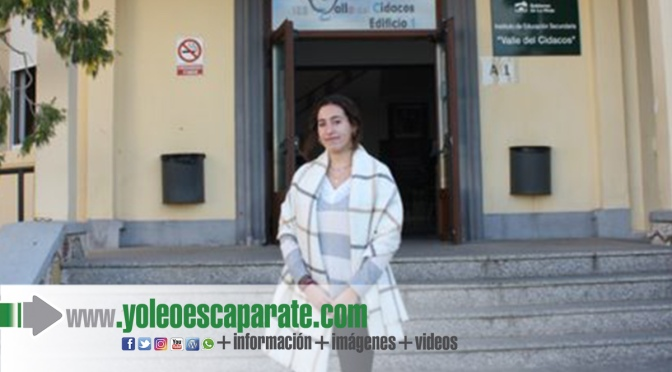 Claudia Martín premio extraordinario de educación secundaria