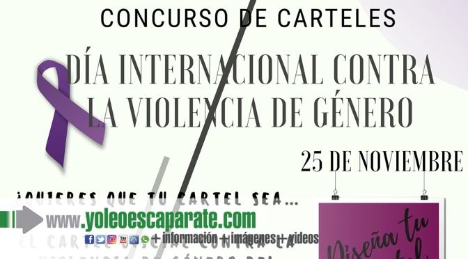 Mañana finaliza el plazo del Concurso de carteles Contra la Violencia de Género