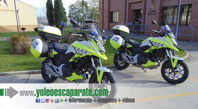 La Policía Local de Calahorra renueva sus motocicletas