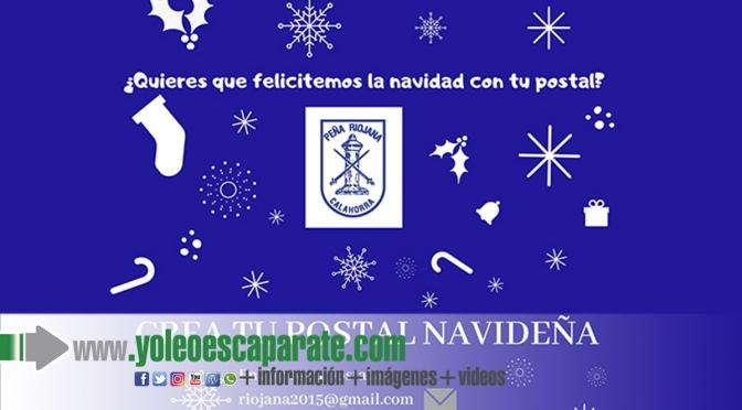 Concurso de postales navideñas peña Riojana