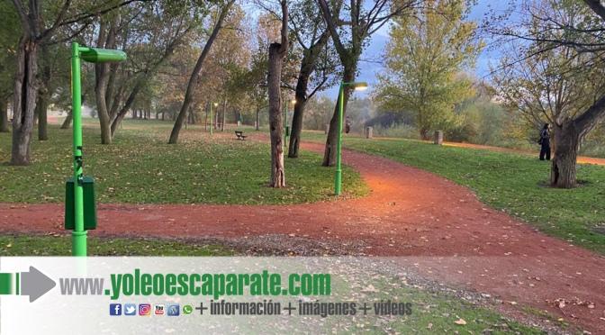 Reparados los caminos del parque del Cidacos