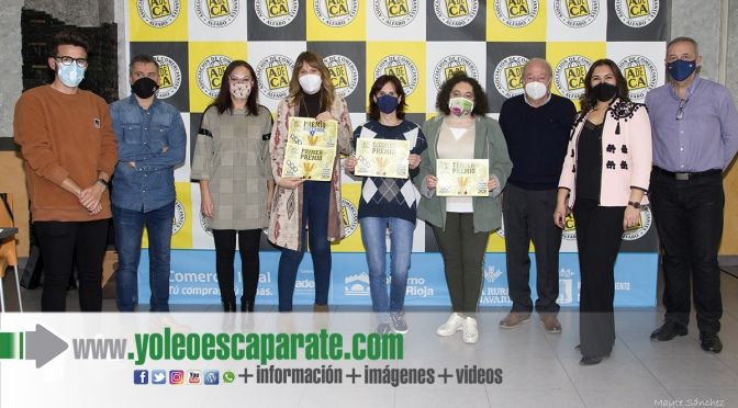 Anare peluquería gana el concurso de escaparates navideños de ADECA  en Alfaro