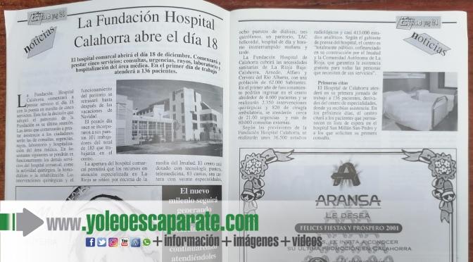 20 años de Fundación hospital Calahorra