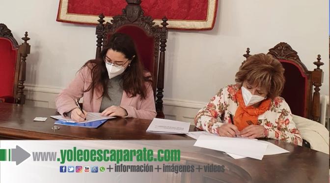 Convenio de colaboración entre el Ayuntamiento de Calahorra y la la Fundación Pioneros