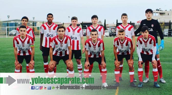 Los juveniles del Club Atlético River Ebro vencen al C.D. San Marcial
