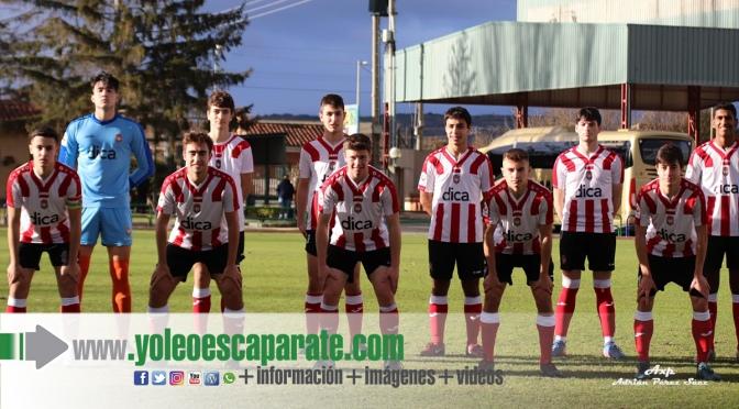 El Club Atlético River Ebro,  Juvenil de Rincón de Soto, ganó al C.D. Berceo