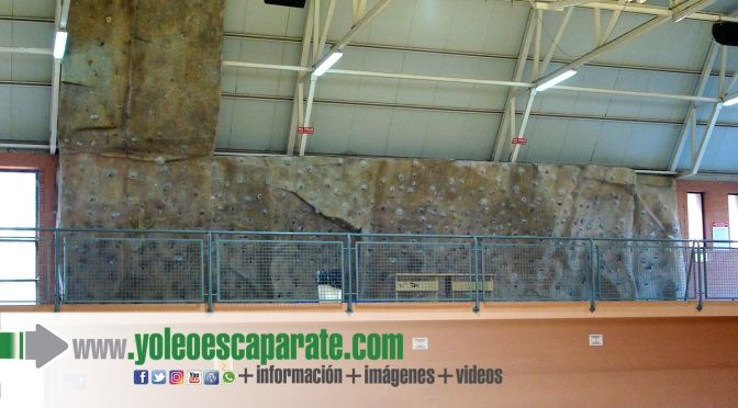 Ampliado el rocódromo del Pabellón del Colegio Quintiliano de Calahorra
