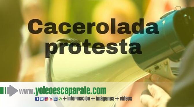 Cacerolada protesta diaria en Alfaro