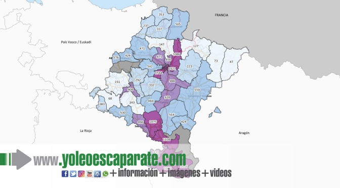 Navarra detecta 213 nuevos positivos, tres de ellos en la zona de San Adrián