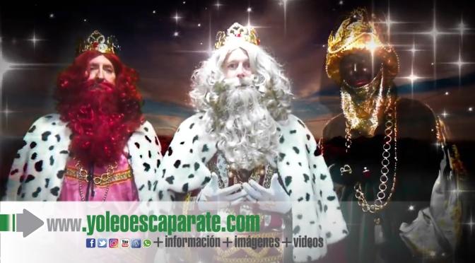 Los reyes magos se verán desde el balcón en Azagra
