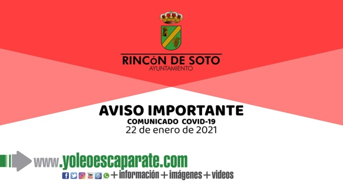 Desde Rincón de Soto se pide el auto confinamiento