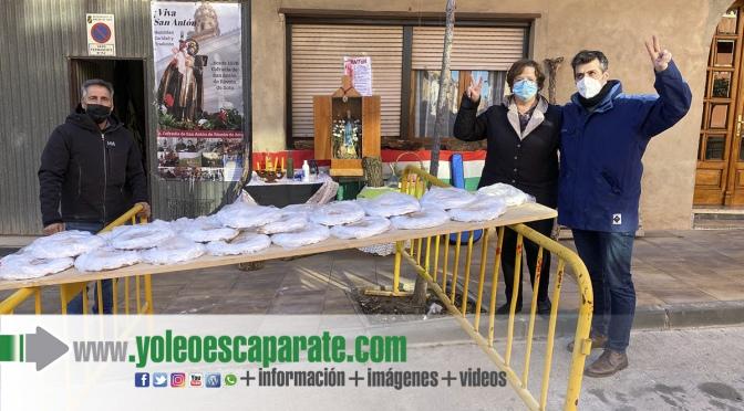 Rincón de soto celebra San Antón con todas las medidas de seguridad
