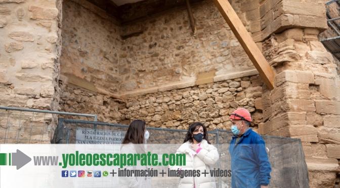 La presidenta del Gobierno visita las obras financiadas por el Gobierno de La Rioja en Calahorra