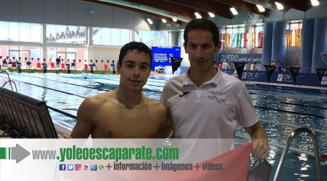 Iván Martínez consigue 2 récord absolutos en el campeonato de España de comunidades