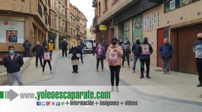 Nuevas protestas de la hostelería de Alfaro y Calahorra ante los cierres impuestos