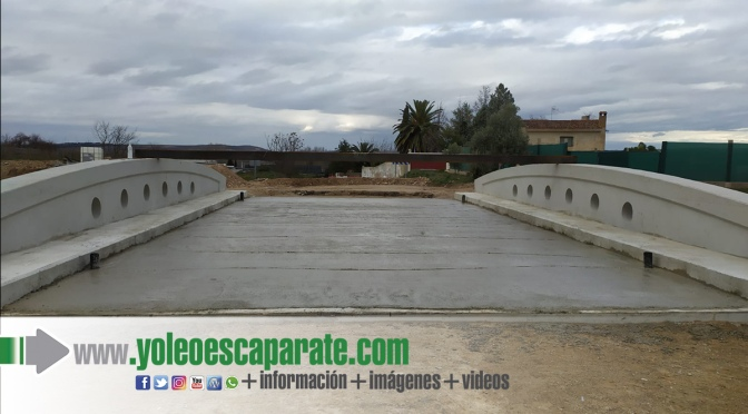 En un mes se realizará la prueba de carga de este nuevo puente