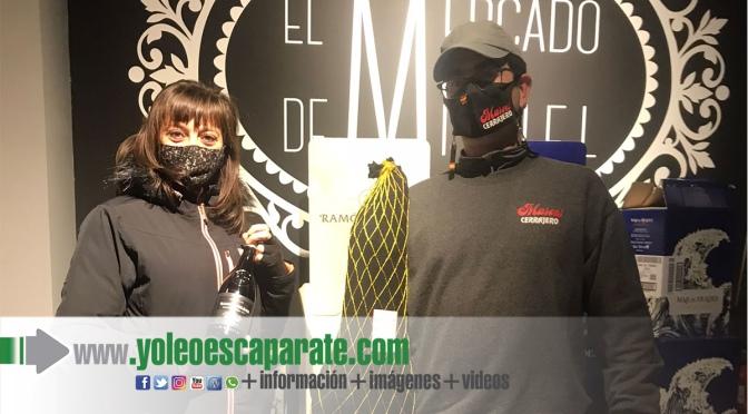 Javier Jiménez ganador del sorteo de San Valentín del Mercado de Miguel