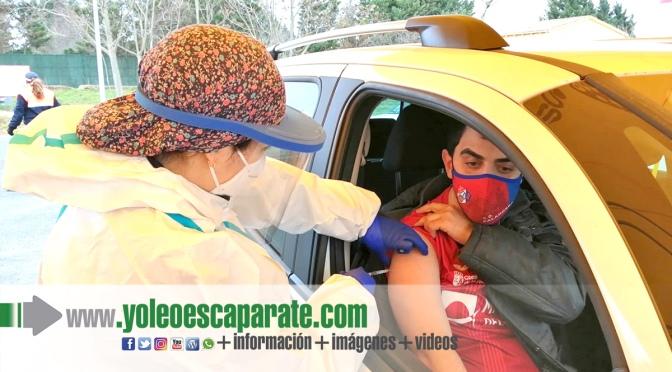 Dispositivo especial de vacunación en Calahorra