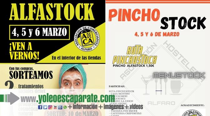 Hasta el próximo 6 de marzo se puede disfrutar del Alfastock y este año como novedad también del Pinchostock