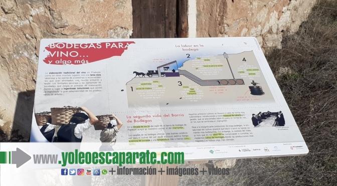 Pradejón estrena un nuevo punto de interés turístico  en el antiguo Barrio de Bodegas