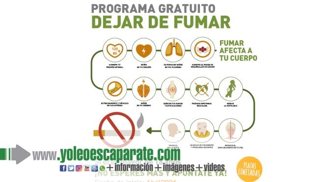 Programa gratuito para dejar de fumar en Calahorra