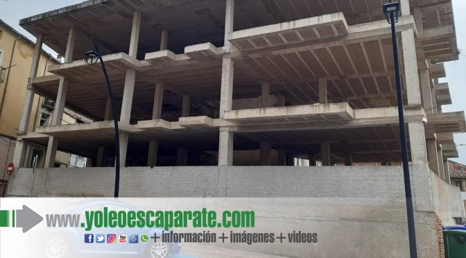 El Ayuntamiento de Calahorra adquiere el edificio en estructura de la plaza de la Verdura