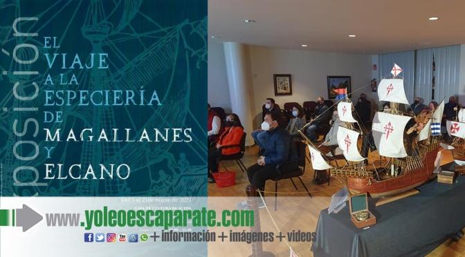 """Inaugurada la Exposición"""" El Viaje a la Especiería de Magallanes y Elcano """" en Autol"""