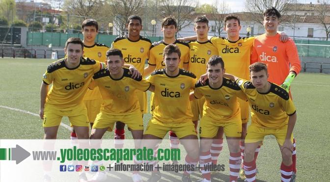 El juvenil del Club Atlético River Ebro perdió el liderato en su primera derrota de Liga en la Ribera frente al CD Villegas.