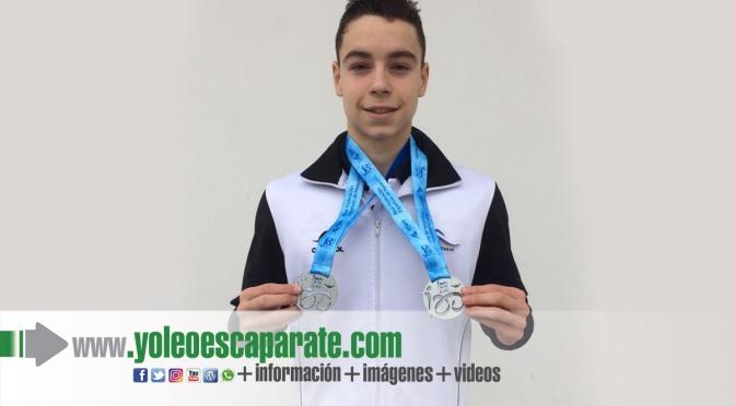 Iván Sota de Aldeanueva de Ebro consigue dos medallas en eL Campeonato de España